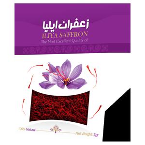 زعفران-پاکتی-۳گرم-pakat-Iliya-saffron-3g