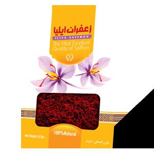 زعفران-پاکتی-نیم-گرم-pakat-Iliya-saffron-0.5g